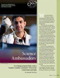Science Ambassadors article