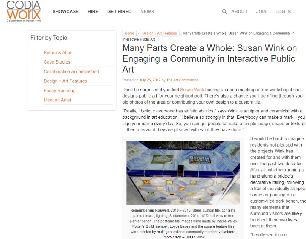 Van Eyck for CODAworx Susan Wink